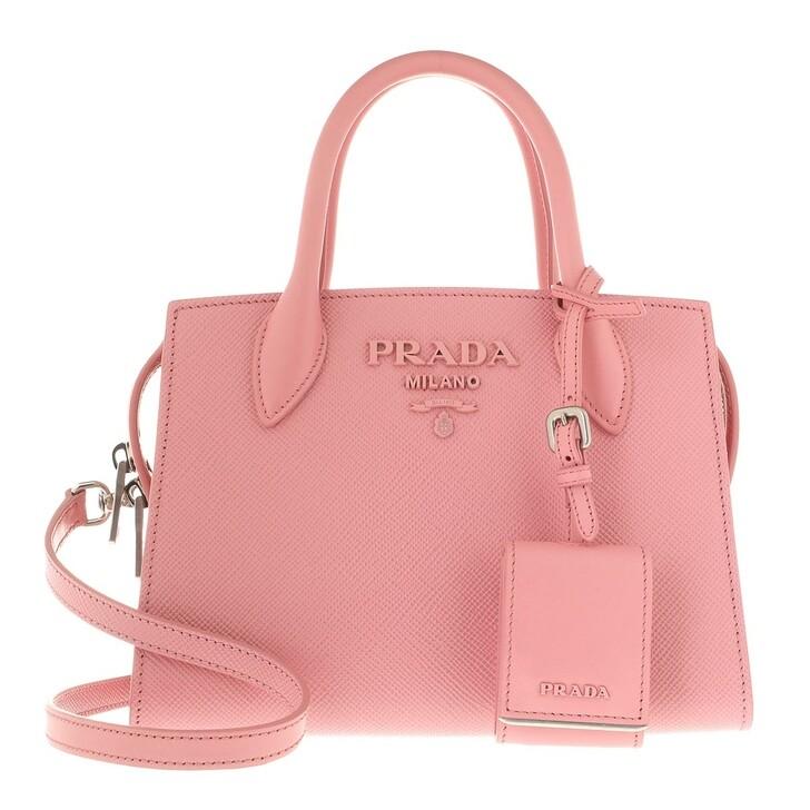 Handtasche, Prada, Tote Galleria Saffiano Leather Petal Pink