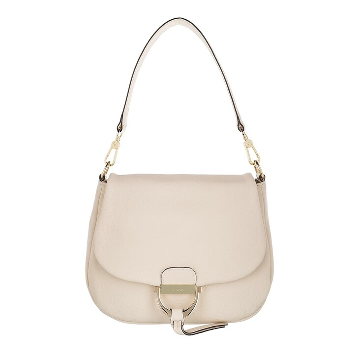 Handtasche, Abro, Shoulder Bag Temi Medium Ivory