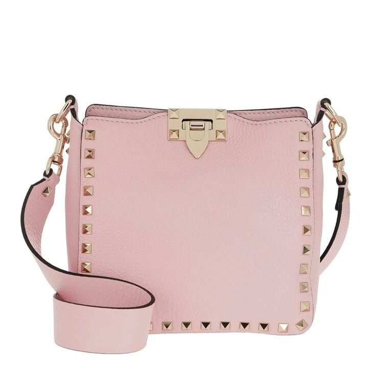 Handtasche, Valentino Garavani, Crossbody Bag Leather Rosequartz