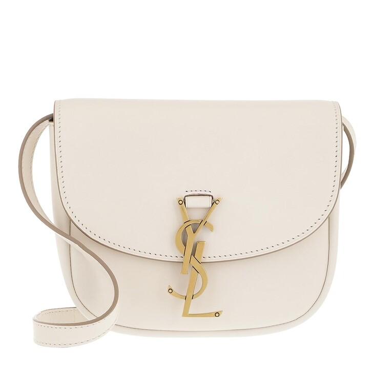 bags, Saint Laurent, Small Kaia Satchel Bag Smooth Leather Latte