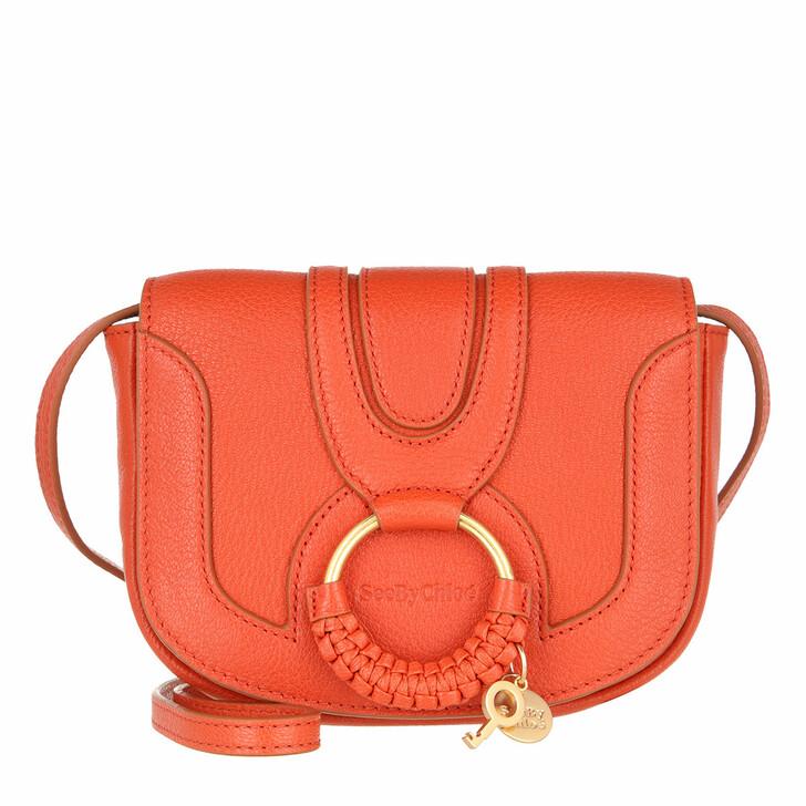 bags, See By Chloé, Hana Mini Crossbody Orange