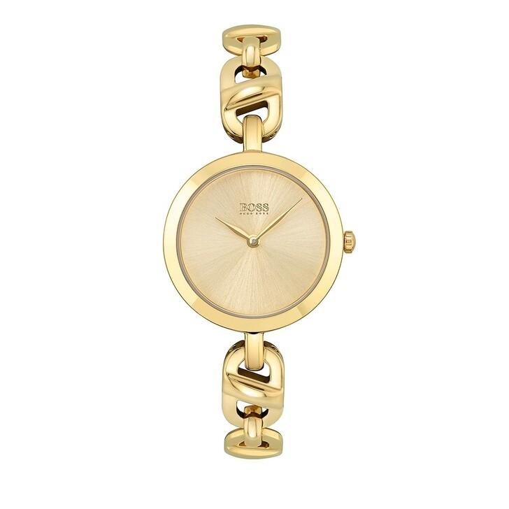 watches, Boss, Quarz watch Gold