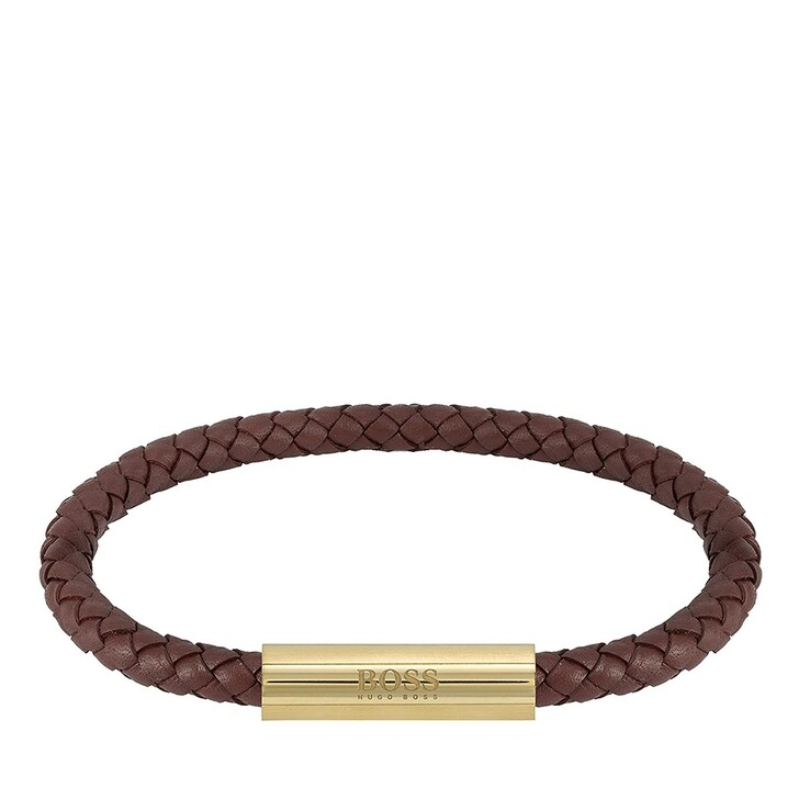 Armreif, Boss, Bracelet Leather Brown