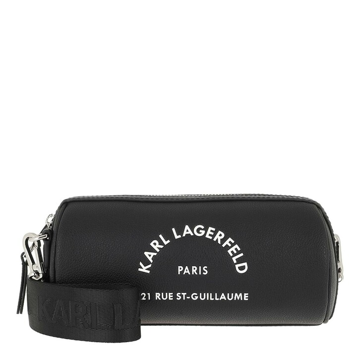 Reisetasche, Karl Lagerfeld, Rue St Guillaume Barrel Bag Black