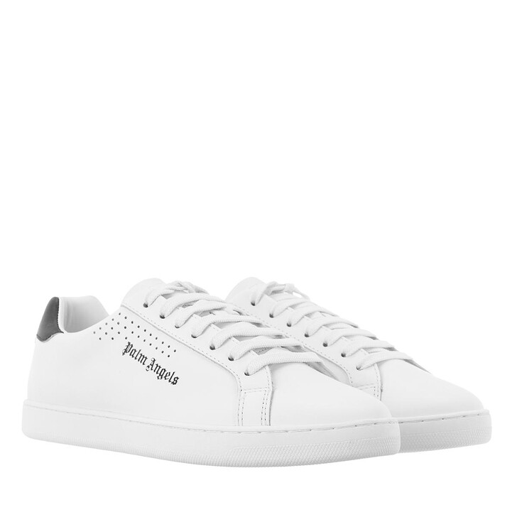shoes, Palm Angels, New Tennis Sneakers   White Black
