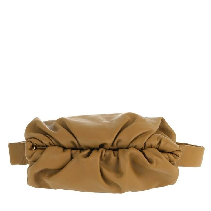 Handtasche, Bottega Veneta, The Body Pouch Belt Bag Leather Khaki