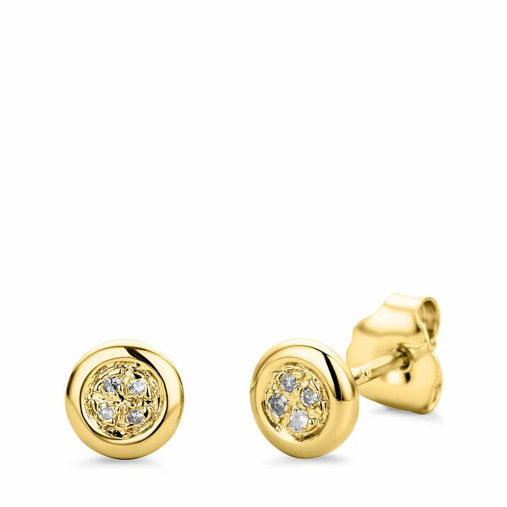 earrings, BELORO, 9KT (375) Earrings Yellow Gold