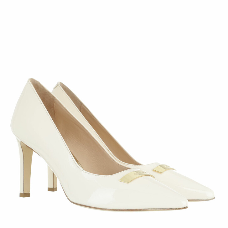 Schuh, AIGNER, Lilly Pumps Off White