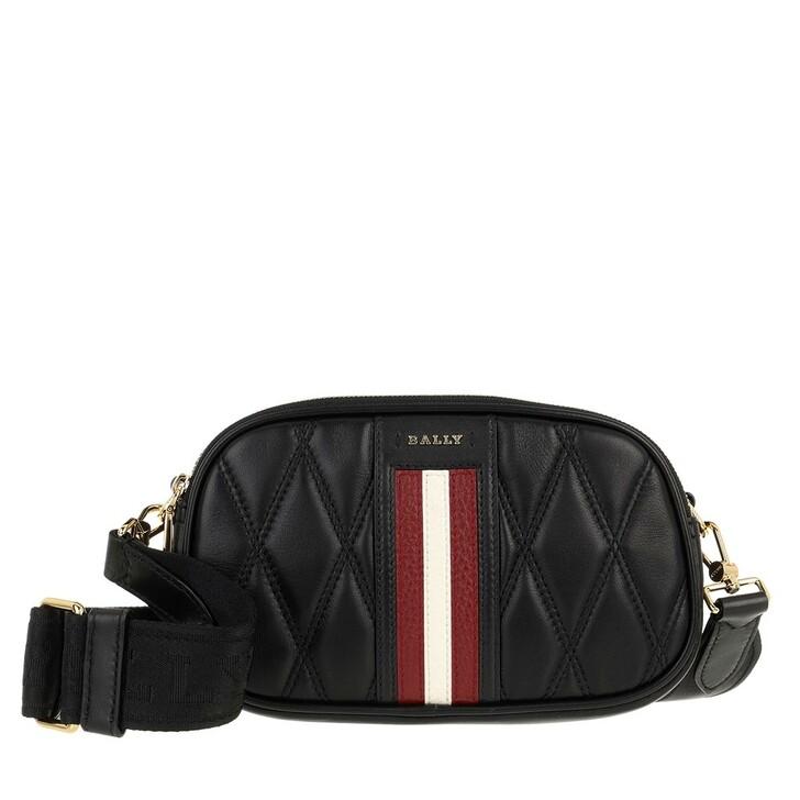 Handtasche, Bally, Denni Crossbody Bag Black