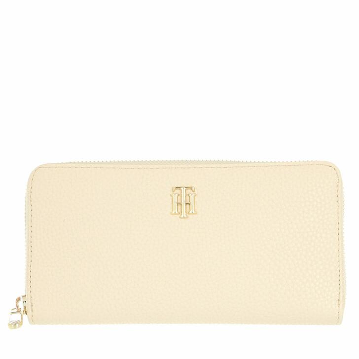 wallets, Tommy Hilfiger, Tommy Hilfiger Soft Large Wallet Classic Beige