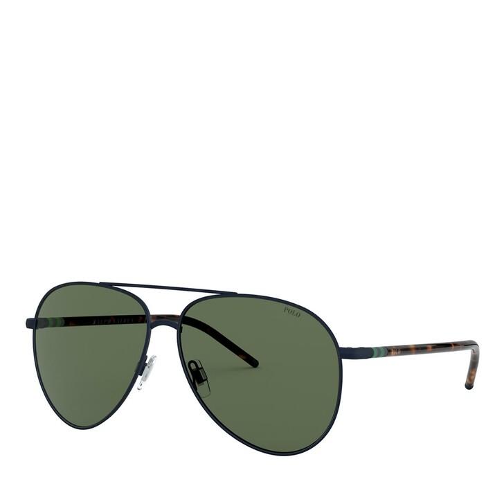 Sonnenbrille, Polo Ralph Lauren, 0PH3131 Matte Navy Blue