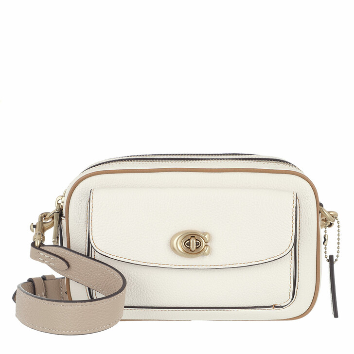 bags, Coach, Colorblock Leather Willow Camera Bag B4/Chalk Multi