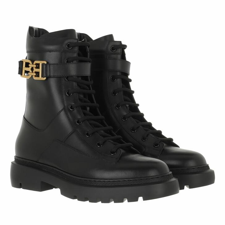 shoes, Bally, Bootie Gioele Flat Black