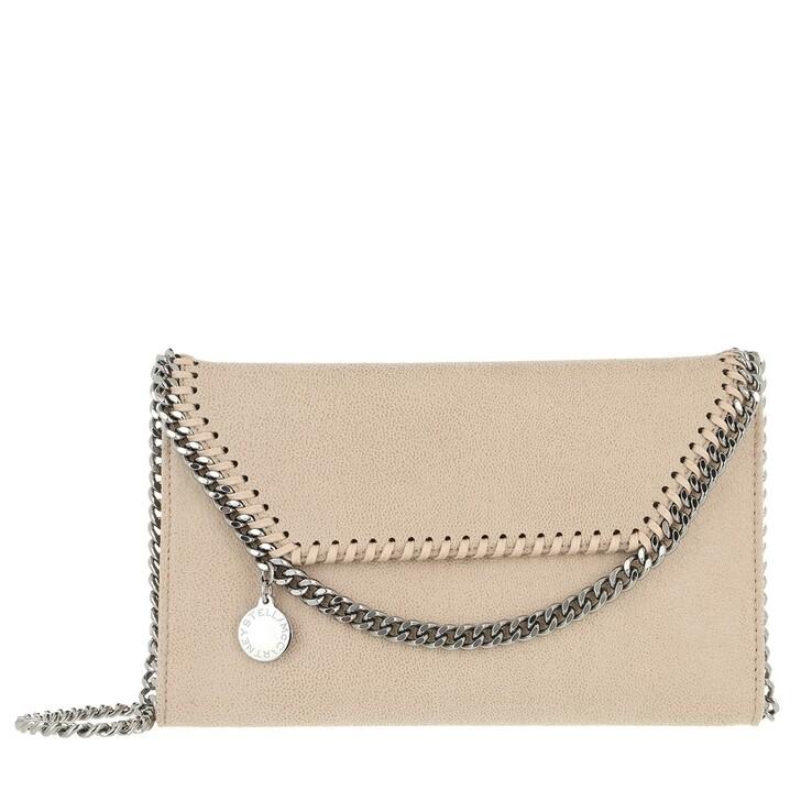 Handtasche, Stella McCartney, Falabella Mini Crossbody Bag Butter Cream