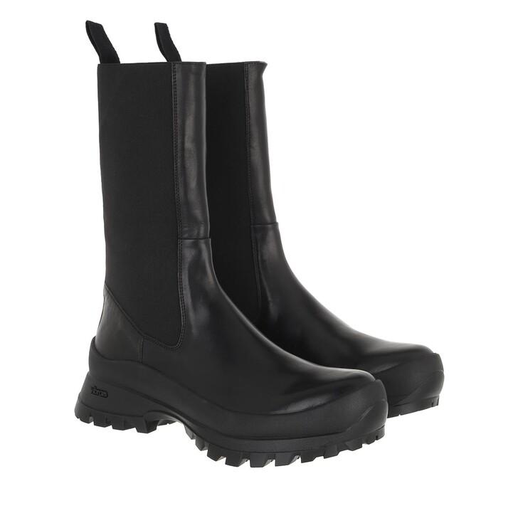 shoes, ATP Atelier, Tolentino Chunky Boot Vachetta Black