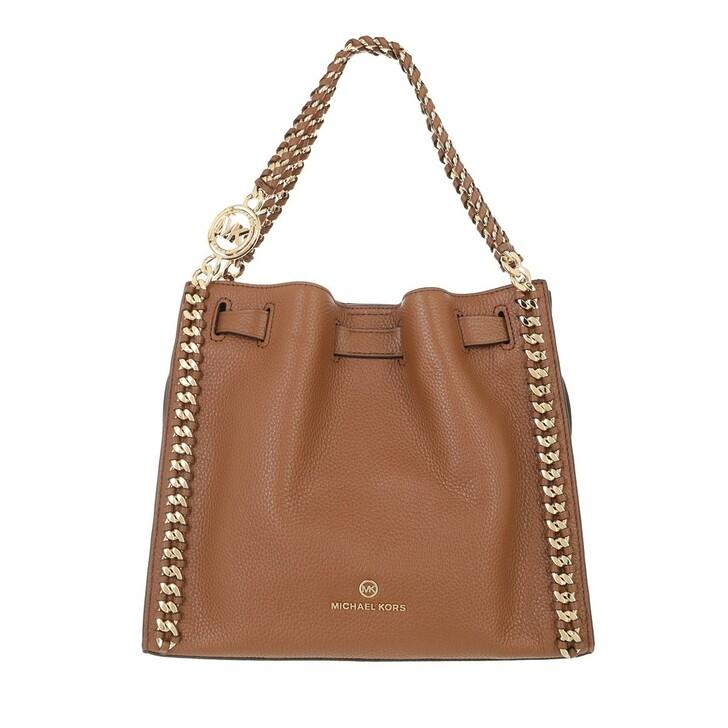 bags, MICHAEL Michael Kors, Mina Medium Chain Conv Messenger Luggage