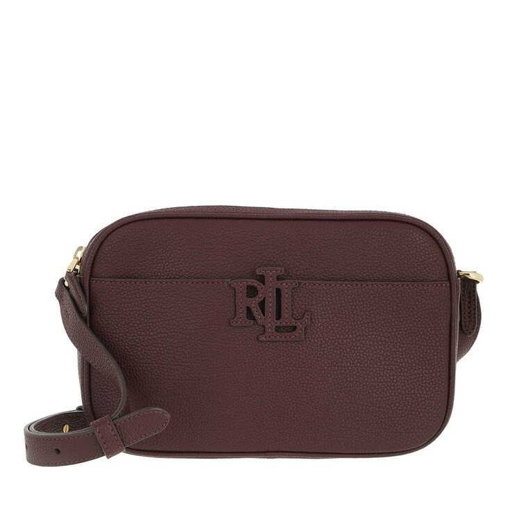 bags, Ralph Lauren, Carrie 24 Crossbody Small Bordeaux