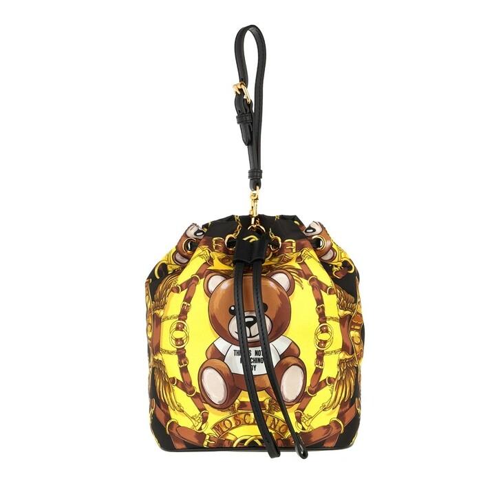 bags, Moschino, Pochette Fantasia Nero