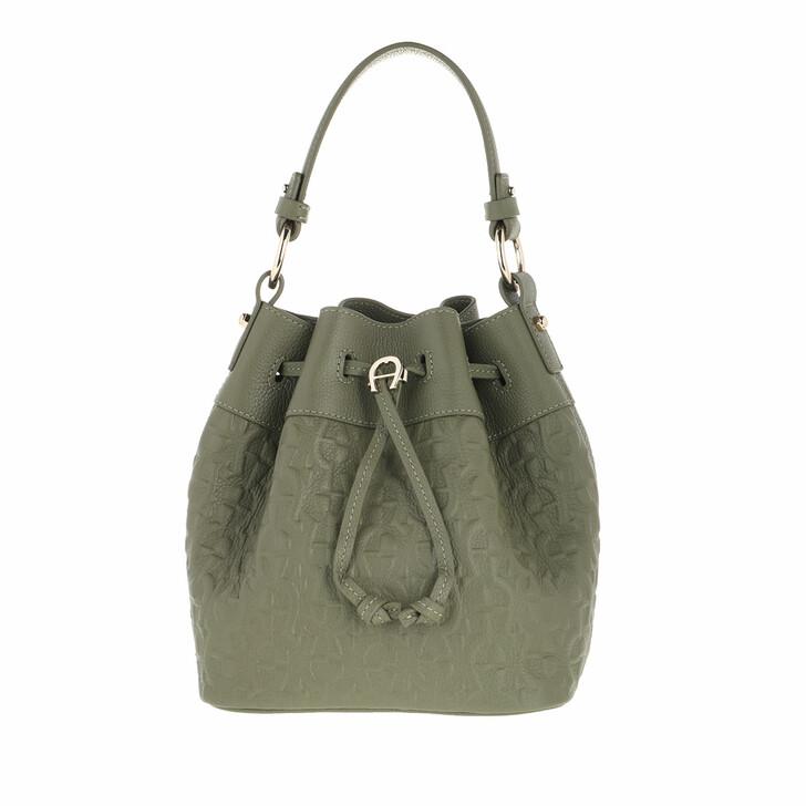 Handtasche, AIGNER, Tara Handle Bag Moss Green