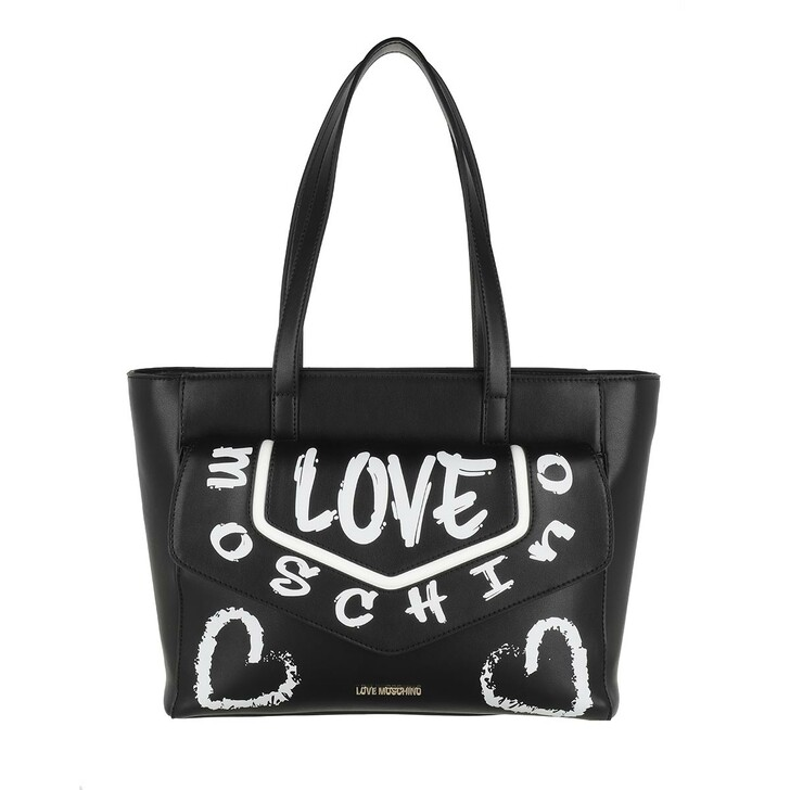 Handtasche, Love Moschino, Borsa Pu+Pu   Nero