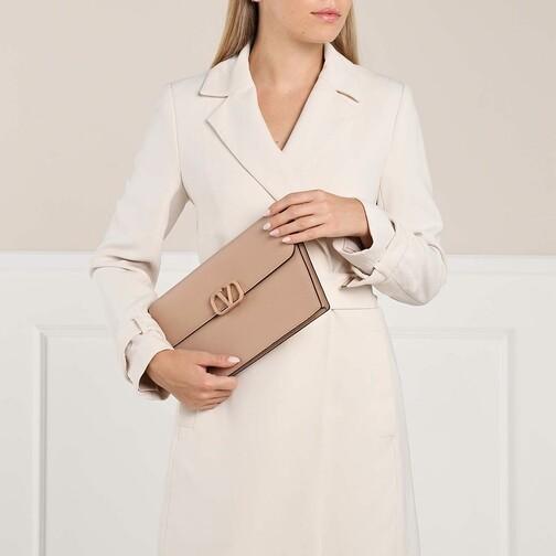 Valentino Garavani Clutches & Sacs de Soirée, Pouch Leather en rose pâle - Pochettespour dames