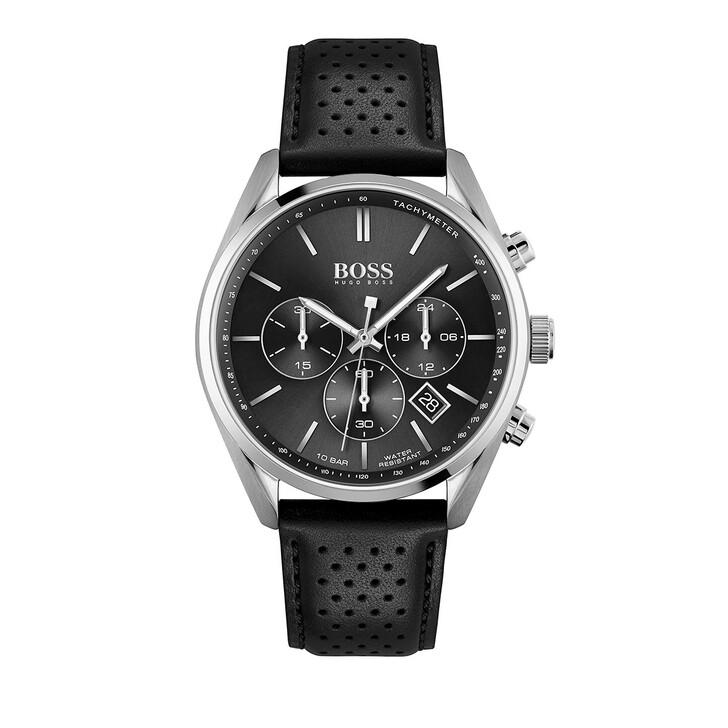 Uhr, Boss, Champion Watch Silver