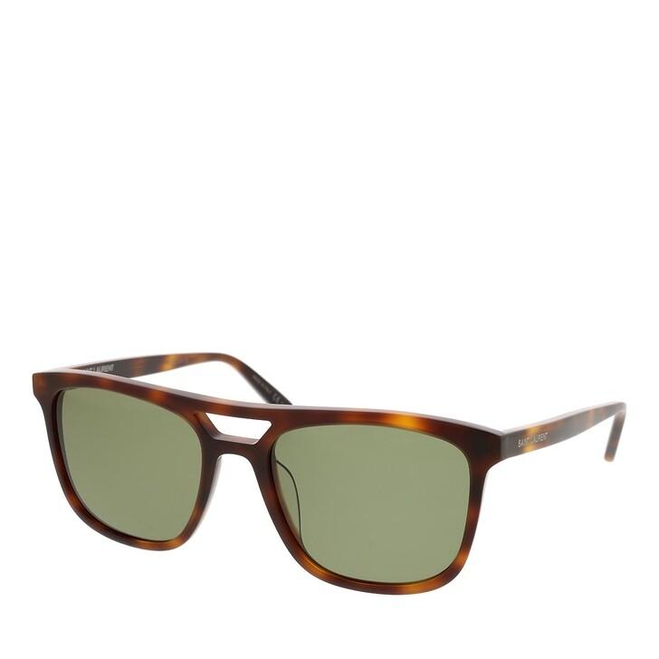 sunglasses, Saint Laurent, SL 455-002 56 Sunglass MAN ACETATE HAVANA