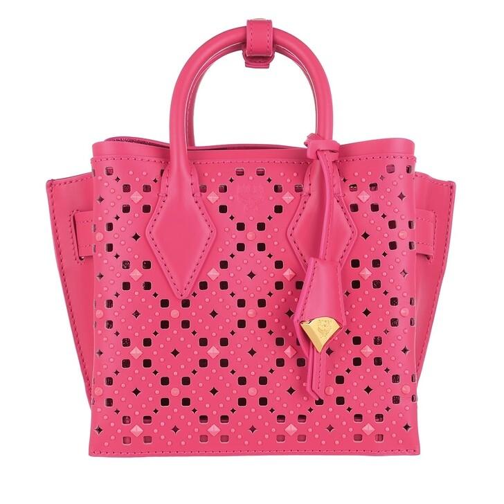 bags, MCM, Neo Milla Tote Mini Sugar Pink
