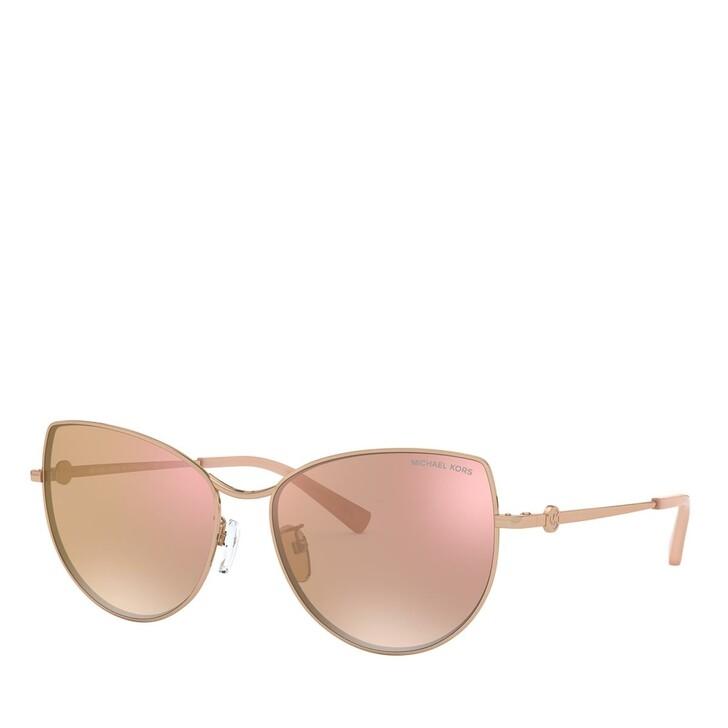 Sonnenbrille, Michael Kors, METALL WOMEN SONNE ROSE GOLD