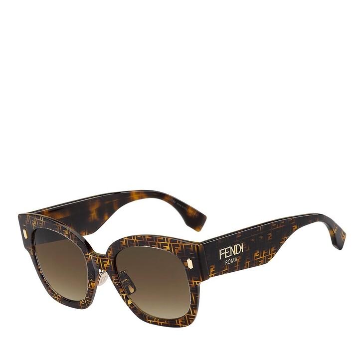 Sonnenbrille, Fendi, FF 0458/G/S HAVANA PATTERN