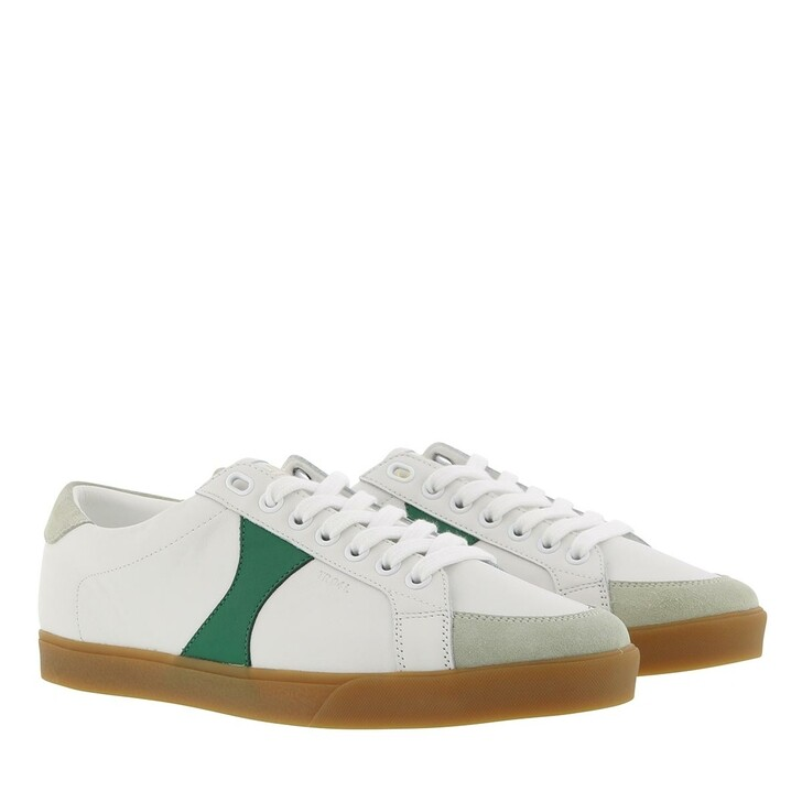 Schuh, Celine, Triomphe Sneaker Leather White Green