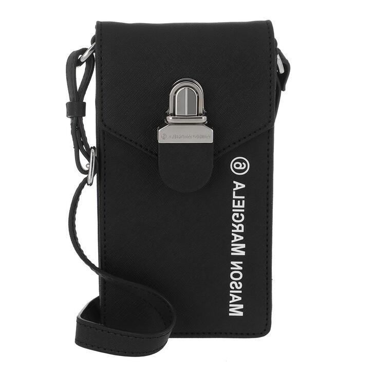 Handtasche, MM6 Maison Margiela, Shoulder Bag Black