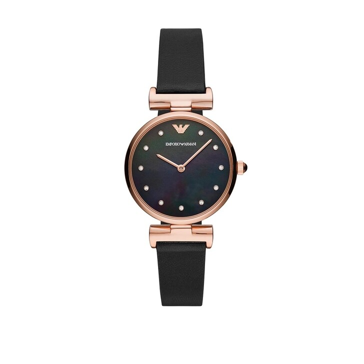 Uhr, Emporio Armani, Gianni T-Bar Watch Rose Gold