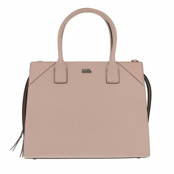 bags, Karl Lagerfeld, K/Stone Tote A190 Beige blus