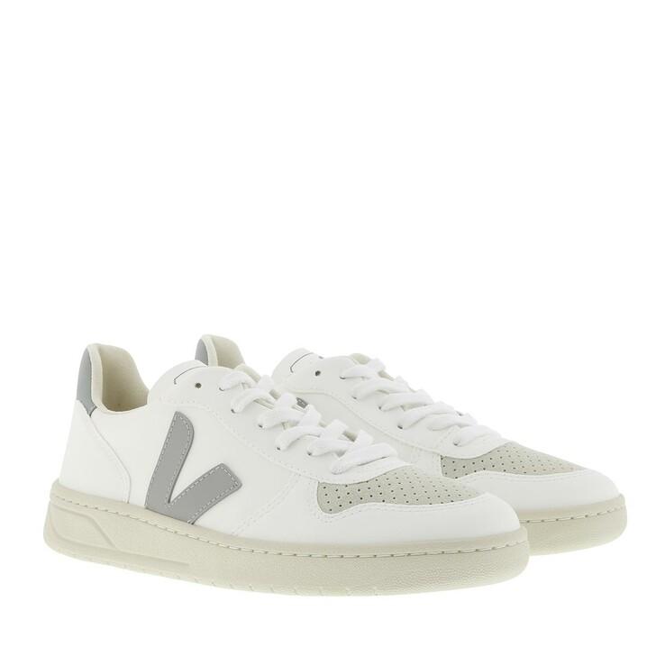 Schuh, Veja, V10 Sneaker White Oxford Grey