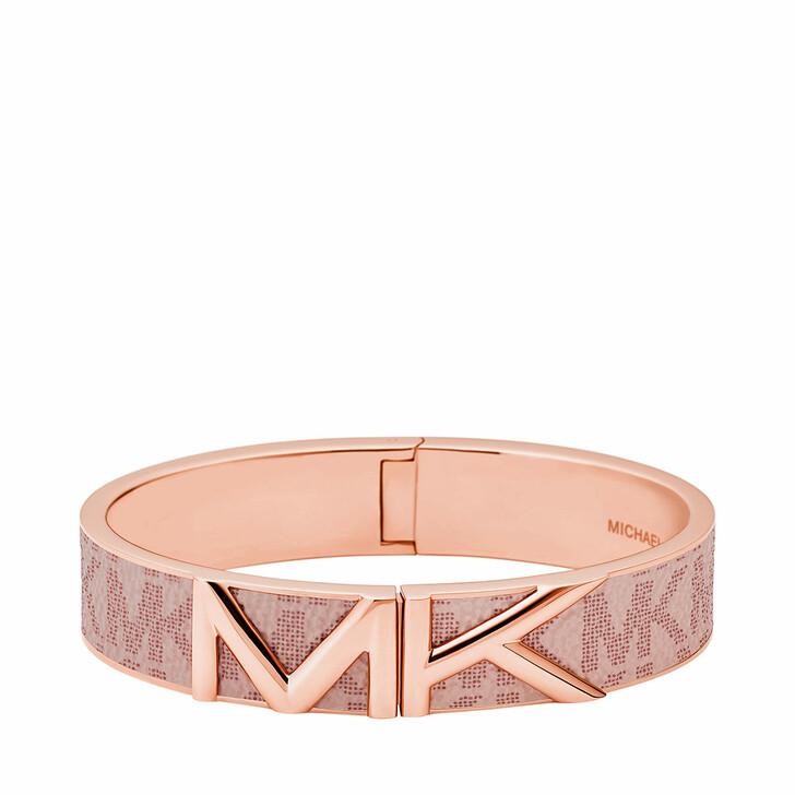 bracelets, Michael Kors, Women's Stainless Steel Bangle Bracelet MKJ7722791 Rose Gold