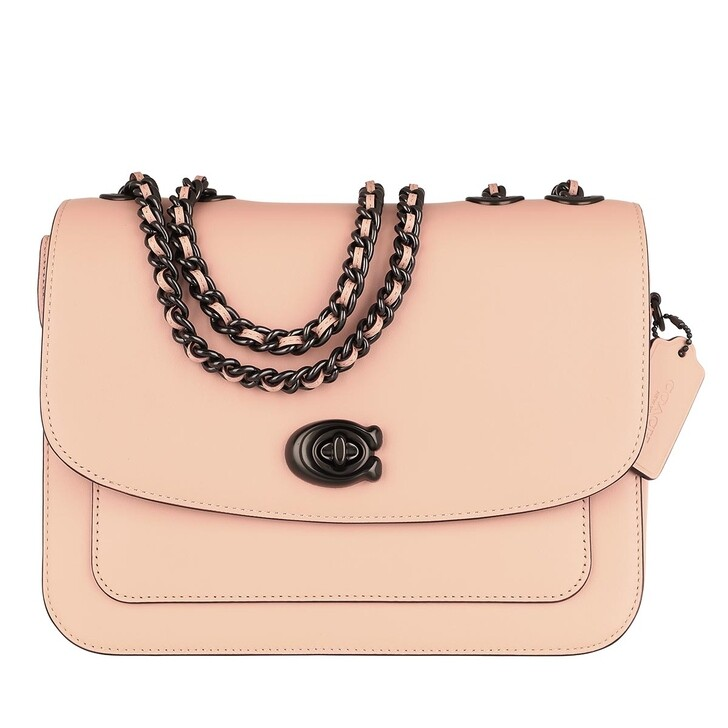 Handtasche, Coach, Refined Calf Leather Madison Shoulder Bag Faded Blush