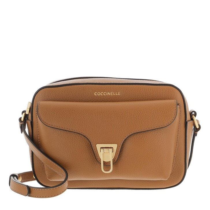 bags, Coccinelle, Coccinelle Beat Soft Handbag  Caramel