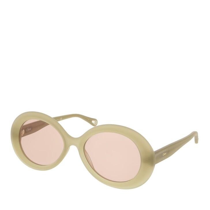 sunglasses, Chloé, CH0051S-002 55 Sunglass Woman Bio Acetate Green-Green-Brown