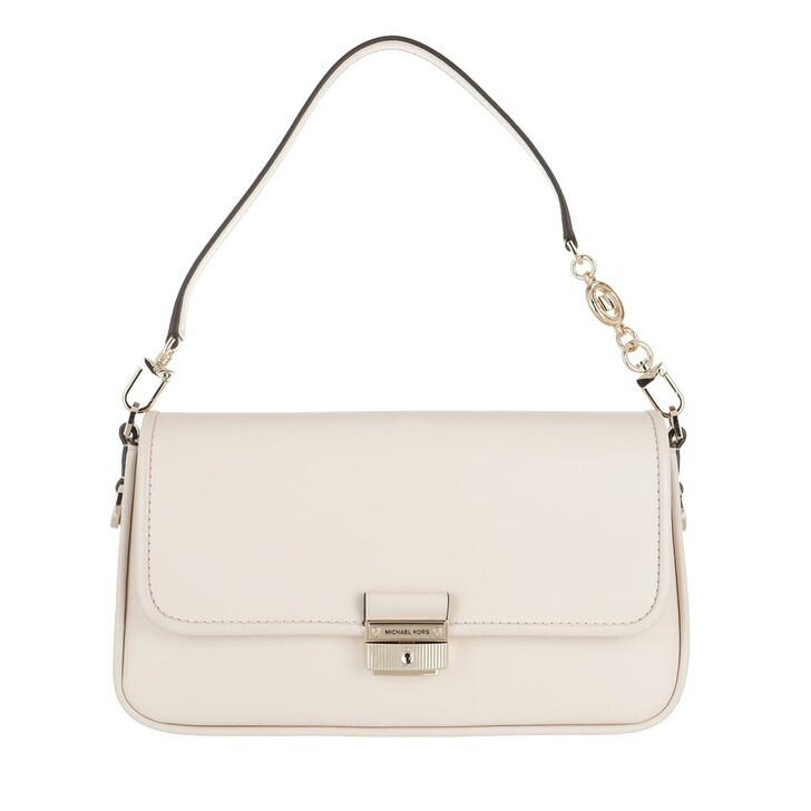 Handtasche, MICHAEL Michael Kors, Small Conv Shoulder Handbag  Leather Lt Cream