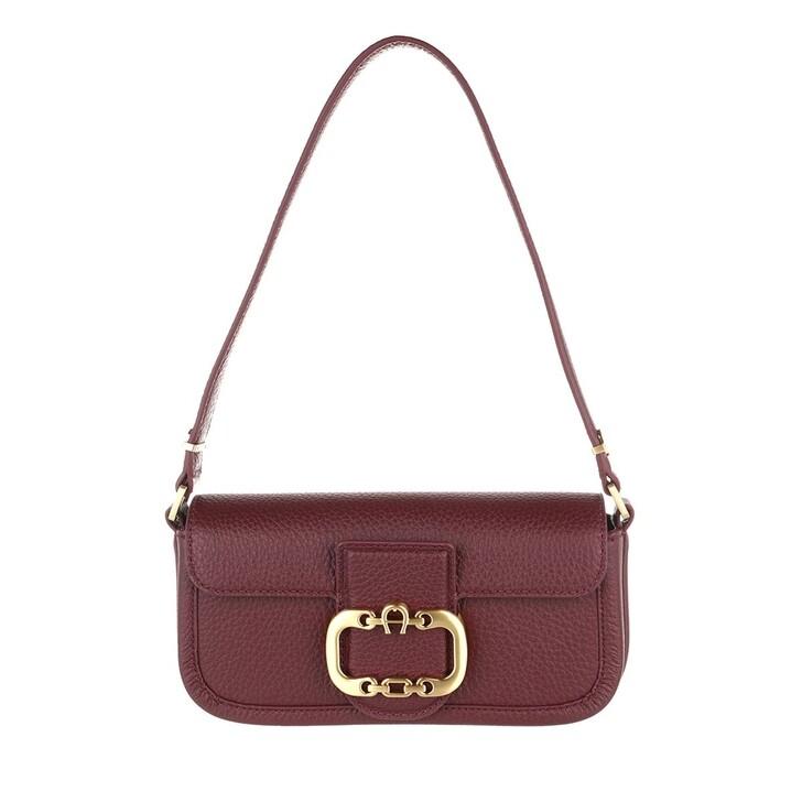 Handtasche, AIGNER, Celia Handle Bag Burgundy