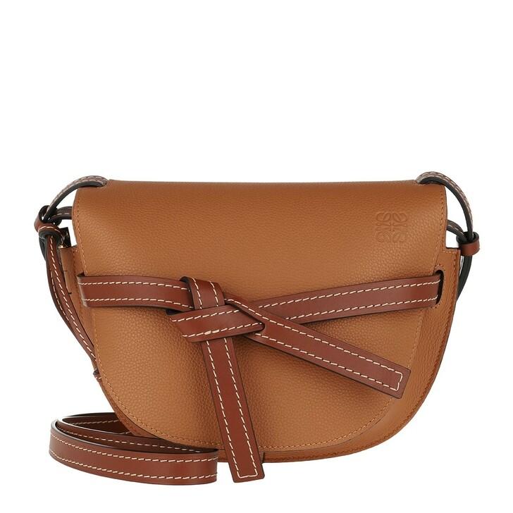 Handtasche, Loewe, Gate Bag Small Light Caramel