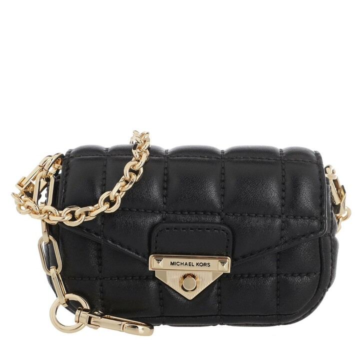 Handtasche, MICHAEL Michael Kors, Soho Xs Bag Charm Black