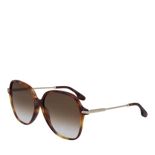 victoria beckham -  Sonnenbrille - VB613S - in braun - für Damen