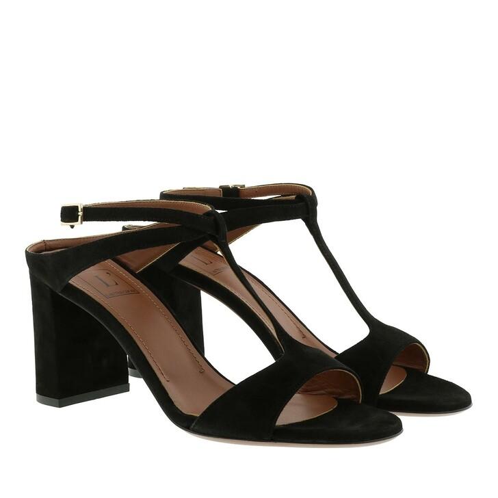 Schuh, L´Autre Chose, Suede Heel Black