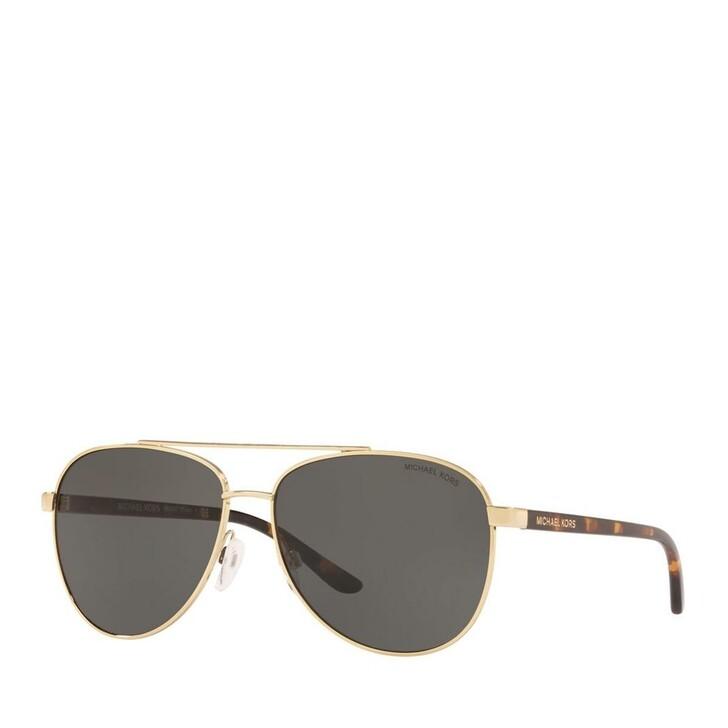 Sonnenbrille, Michael Kors, Women Sunglasses Sporty 0MK5007 Light Gold