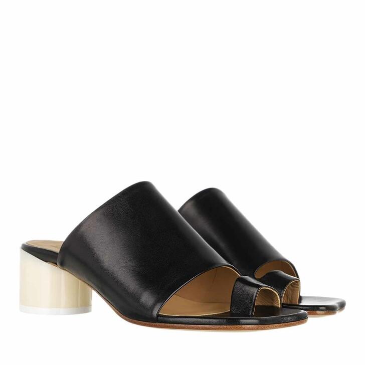 Schuh, MM6 Maison Margiela, Mules Nappa Black