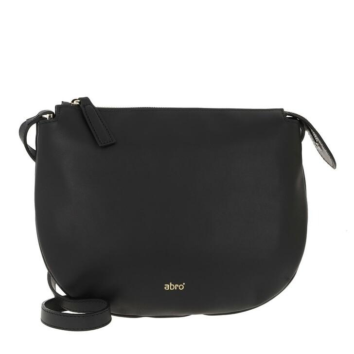 Handtasche, Abro, Wonderland Crossbody Bag Black