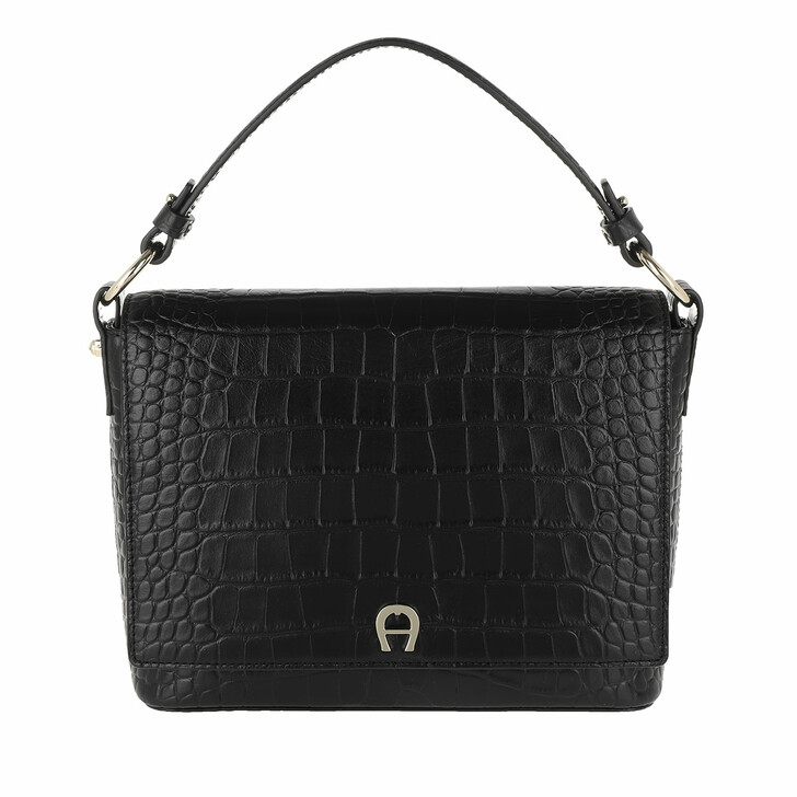 Handtasche, AIGNER, Tara Crossbody Bag Black