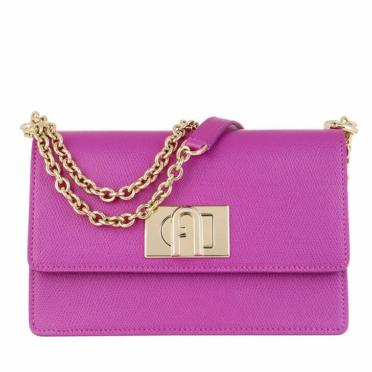 Handtasche, Furla, 1927 Mini Crossbody Flamingo Purple